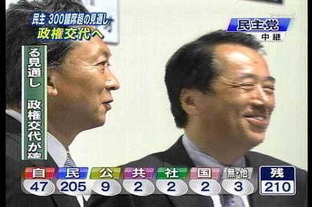 """09年08月30日21時29分-NHK総合(東京)-[二]衆院選2009開票速報 """"政権選択.jpg"""